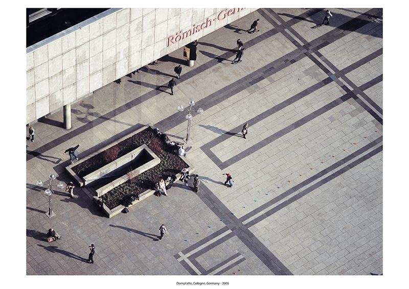 Alexander Basile, Domplatte, Cologne, Germany, 2005